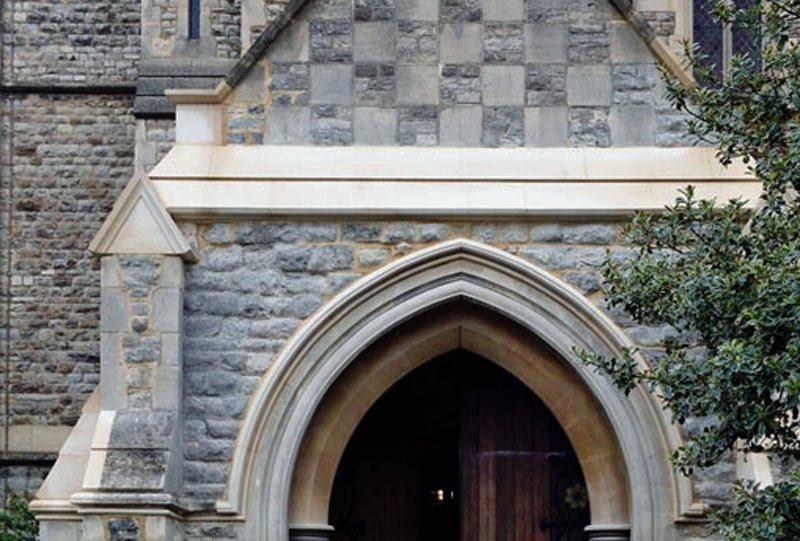 Example of church restoration