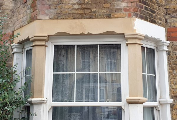 Bay window section replacement