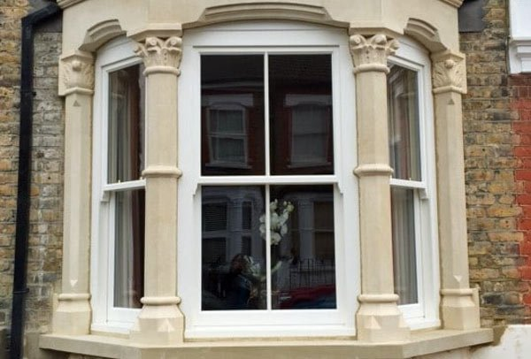 A Victorian bay window restoration by London Stonemasonry